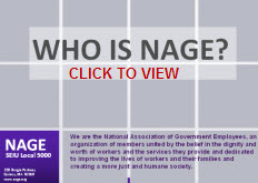 Click to view Who Is NAGE?